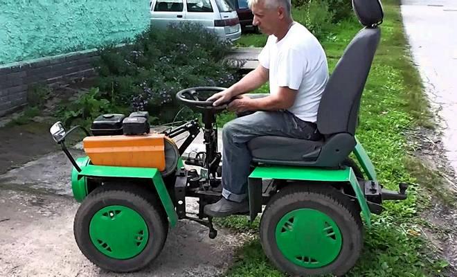 Трактор Каскад своими руками