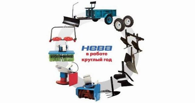 Мотоблок Нева МБ-2 - инструкция по эксплуатации и сборке