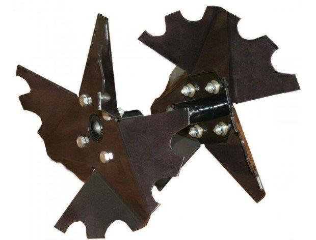 Пропеллерный окучник для мотоблока