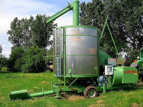 Фото мобильной зерносушилки Agrimec