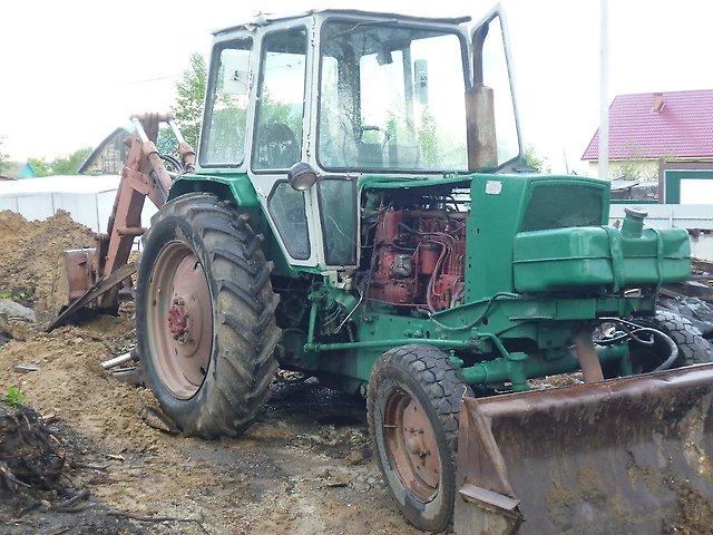 Технические характеристики трактора ЮМЗ 6