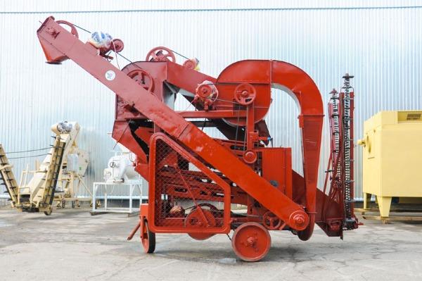Технические характеристики зерноочистительной машины ОВС-25