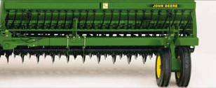 Приспособление для посева трав John Deere 455