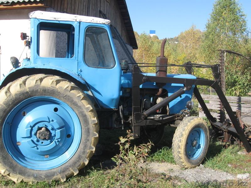 Трактор МТЗ-50 вид сбоку