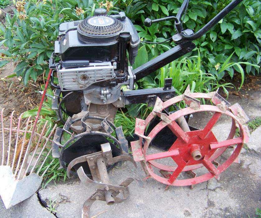 Мотокультиватор Тарпан-03 в сборке