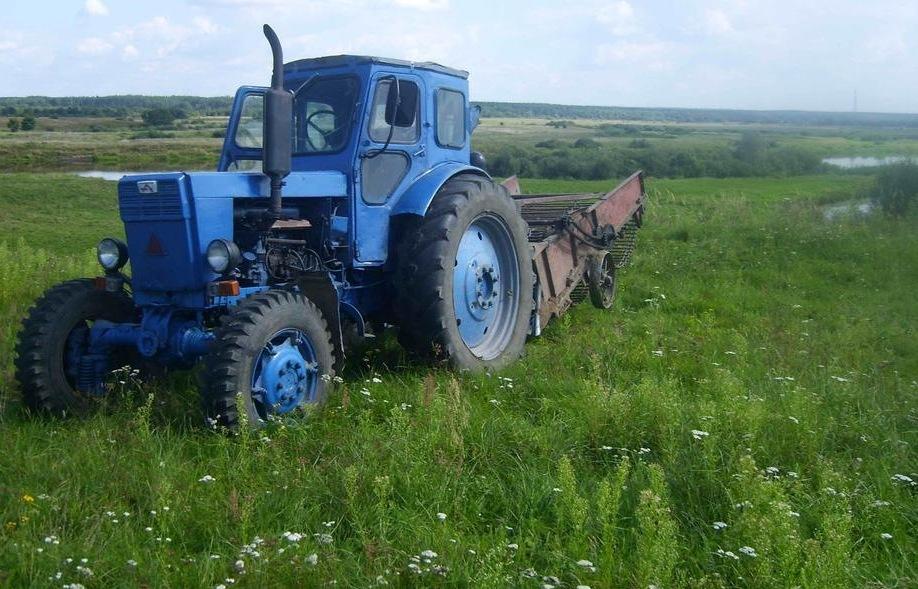 Внешний вид трактора Т-40