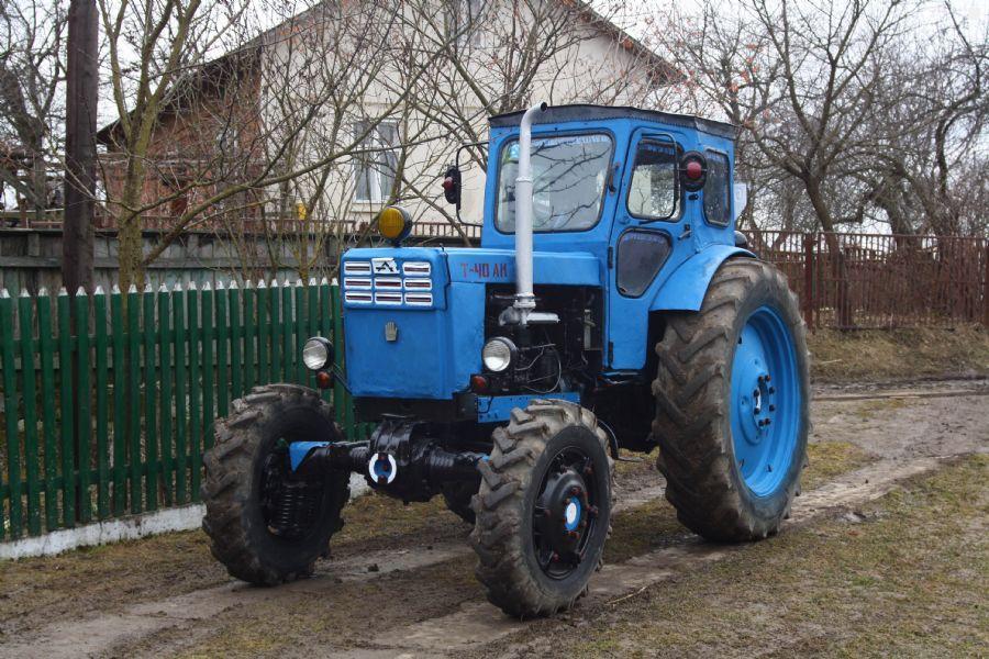 Модификация трактора Т-40