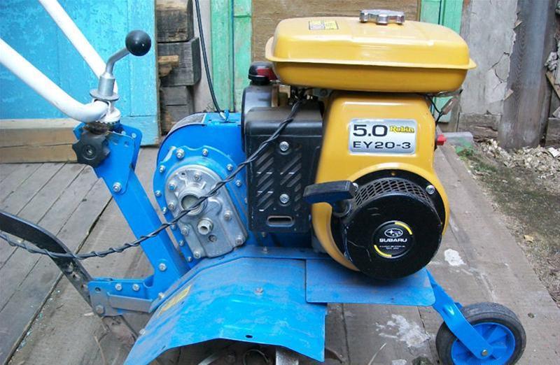 Двигатель мотокультиватора Нева МК-100