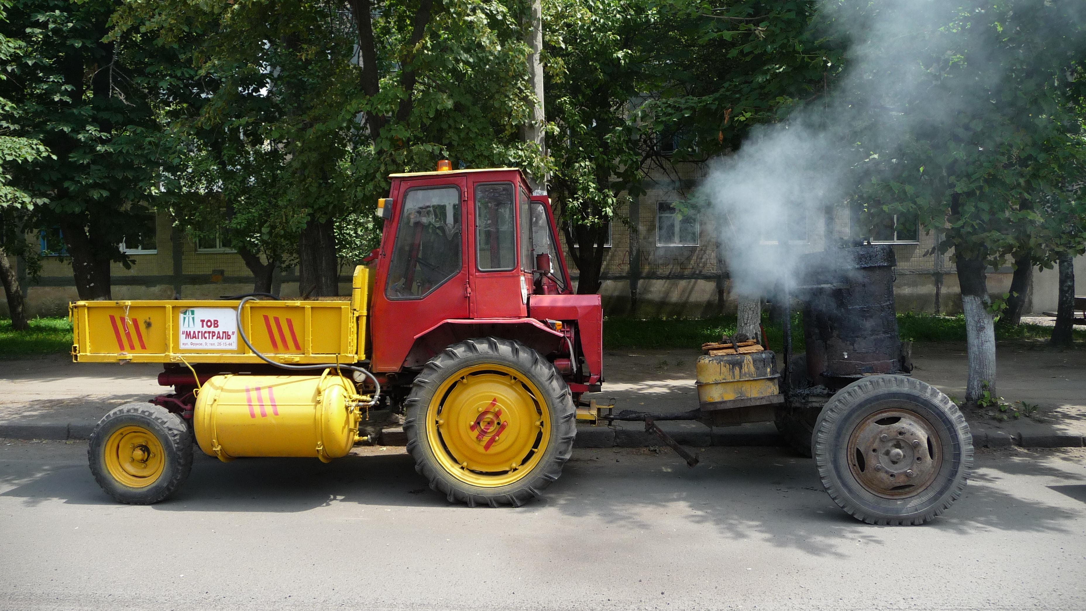 Модификация трактора Т-16