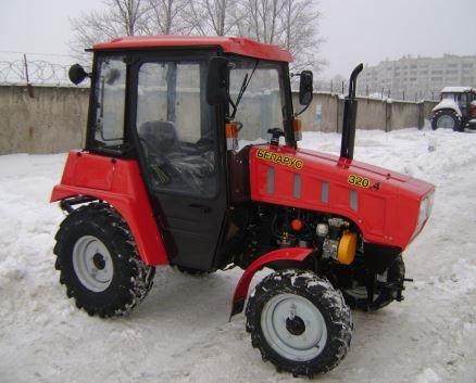 Фото трактора МТЗ 320.4 Беларус