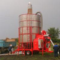Мобильная  зерносушилка ТКМ 25 OZSU