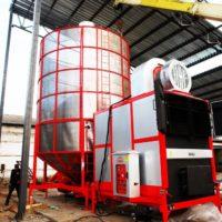 Мобильное зерносушильное оборудование Ozsu (Турция)
