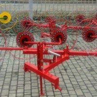Грабли ворошилки, гребка, грабарка 4-5 колес, солнышко, ленточные Польша