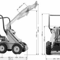 Многофункциональный мини-погрузчик, мини-трактор
