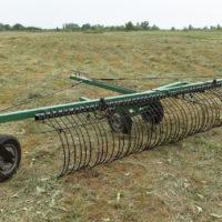 Грабли поперечные тракторные