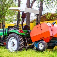 Пресс-подборщик рулонный 0850 для тракторов от 18 до 50 л.с.