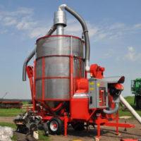 Мобильная зерносушилка ТКМ 10   OZSU