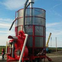 Мобильная  зерносушилка ТКМ 33 OZSU